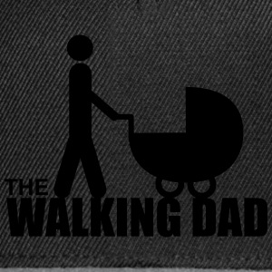 The walking dad,Daddy,gift,zombie  - Snapback Cap