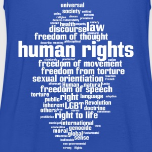 human rights T-Shirts - Frauen Tank Top von Bella