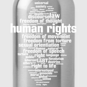 human rights T-Shirts - Trinkflasche