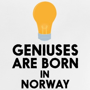 Geniuses are born in NORWAY S6uqn Shirts - Baby T-Shirt