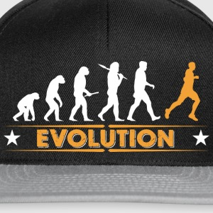 Running Evolution - orange/weiss Torby i plecaki - Czapka typu snapback