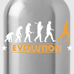 Running Evolution - orange/weiss Bluzy - Bidon
