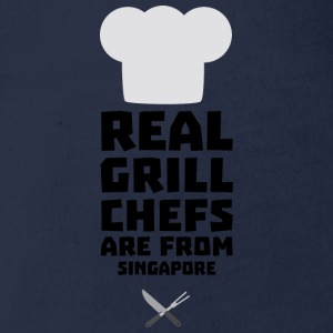 Real Grill Chefs are from Singapore Sme6v Long Sleeve Shirts - Organic Short-sleeved Baby Bodysuit