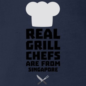 Real Grill Chefs are from Singapore Sb2oj Shirts - Organic Short-sleeved Baby Bodysuit