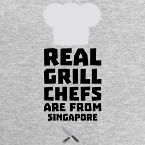 Real Grill Chefs are from Singapore Sb2oj Tops - Men's Sweatshirt by Stanley & Stella