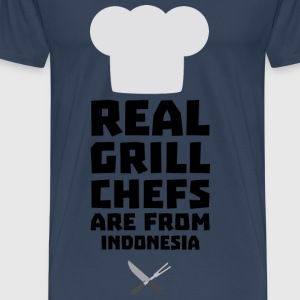 Real Grill Chefs are from Indonesia Sz24t Other - Men's Premium T-Shirt