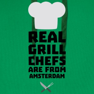 Real Grill Chefs are from Amsterdam Sl267 T-Shirts - Men's Premium Hoodie