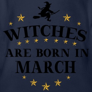 Witches March T-Shirts - Baby Bio-Kurzarm-Body