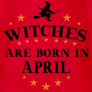 Witches April T-Shirts - Baby Bio-Kurzarm-Body