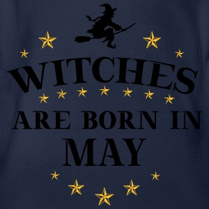 Witches May T-Shirts - Baby Bio-Kurzarm-Body