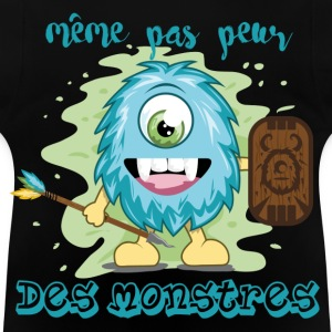 monstre guerrier Sweats - T-shirt Bébé