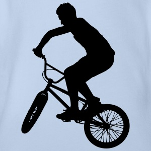 BMX Bicycle Sports Bike Magliette - Body ecologico per neonato a manica corta