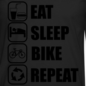 Eat,sleep,bike,repeat,cycling,Shirt - Men's Premium Longsleeve Shirt