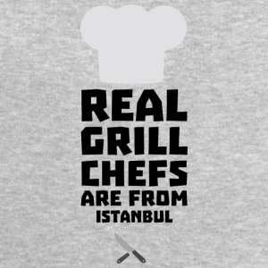 Real Grill Chefs are from Istanbul Sr91i Long Sleeve Shirts - Men's Sweatshirt by Stanley & Stella