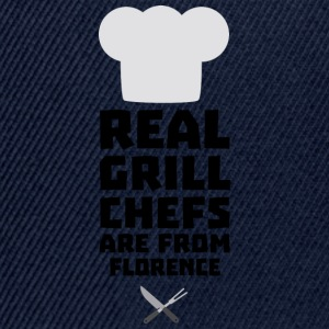 Real Grill Chefs are from Florence Sa9z0 Shirts - Snapback Cap