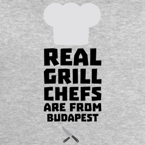 Real Grill Chefs are from Budapest S6tup T-Shirts - Men's Sweatshirt by Stanley & Stella