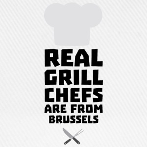 Real Grill Chefs are from Brussels Sxq73 Shirts - Baseball Cap