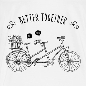 Better Together / Tandem / Me & You Sonstige - Männer Premium T-Shirt