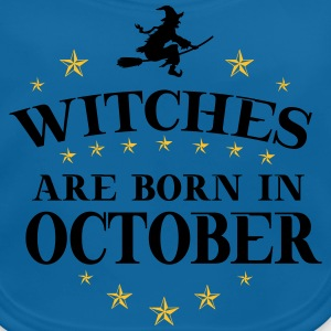 Witches Oktober T-Shirts - Baby Bio-Lätzchen