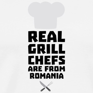 Real Grill Chefs are from Romania S2a9z Hoodies & Sweatshirts - Men's Premium T-Shirt