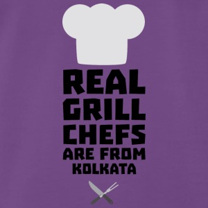 Real Grill Chefs are from Kolkata S16lr Tops - Men's Premium T-Shirt