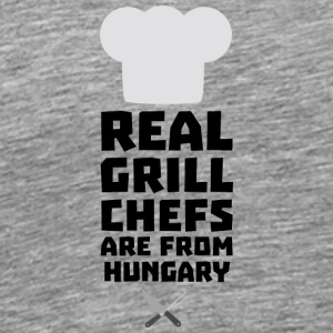 Real Grill Chefs are from Hungary S862d Sports wear - Men's Premium T-Shirt