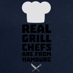Real Grill Chefs are from Hamburg S4u7m T-Shirts - Men's Sweatshirt by Stanley & Stella