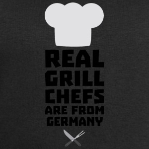Real Grill Chefs are from Germany S70ij Long Sleeve Shirts - Men's Sweatshirt by Stanley & Stella