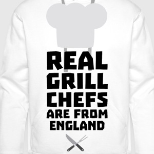 Real Grill Chefs are from England Sqqk3 Bags & Backpacks - Men's Premium Hoodie