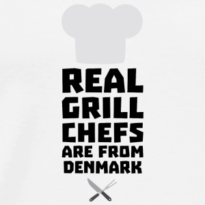 Real Grill Chefs are from Denmark Sxyp3 Baby Bodysuits - Men's Premium T-Shirt