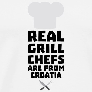 Real Grill Chefs are from Croatia St141 Long Sleeve Shirts - Men's Premium T-Shirt