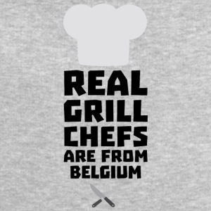 Real Grill Chefs are from Belgium S7677 T-Shirts - Men's Sweatshirt by Stanley & Stella