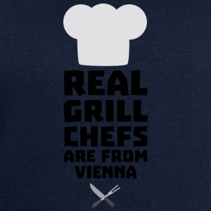 Real Grill Chefs are from Vienna S9rm1 T-Shirts - Men's Sweatshirt by Stanley & Stella