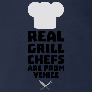 Real Grill Chefs are from Venice S88km Shirts - Organic Short-sleeved Baby Bodysuit