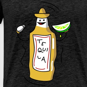 Tequila Toppe - Herre premium T-shirt