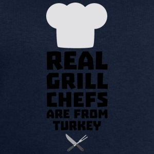 Real Grill Chefs are from Turkey S306q Long Sleeve Shirts - Men's Sweatshirt by Stanley & Stella