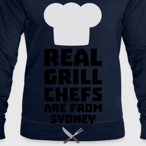 Real Grill Chefs are from Sydney So470 Other - Men's Sweatshirt by Stanley & Stella