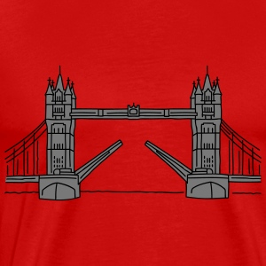 LONDON Tower Bridge 2 - Männer Premium T-Shirt