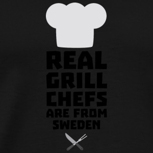 Real Grill Chefs are from Sweden S54jd Long Sleeve Shirts - Men's Premium T-Shirt