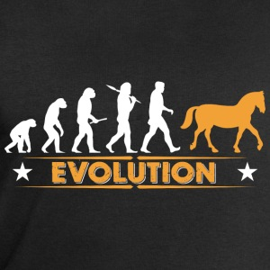 Evolution du cheval - blanc/orange Vêtements de sport - Sweat-shirt Homme Stanley & Stella