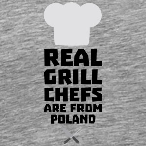 Real Grill Chefs are from Poland Stz6s Sports wear - Men's Premium T-Shirt