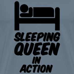 Sleeping Queen - Männer Premium T-Shirt