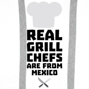Real Grill Chefs are from Mexico S6gf1 Bags & Backpacks - Men's Premium Hoodie