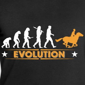 Riding evolution - oransje/hvit Skjorter - Sweatshirts for menn fra Stanley & Stella