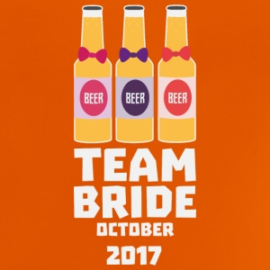 Team Bride October 2017 S2z22 Shirts - Baby T-Shirt