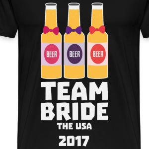 Team Bride The USA 2017 S3vwc Baby Cap - Men's Premium T-Shirt