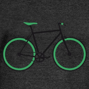 Singlespeed black-green T-Shirts - Women's Boat Neck Long Sleeve Top