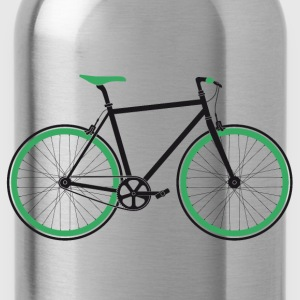 Singlespeed black-green T-Shirts - Water Bottle