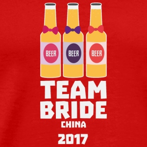 Team Bride China 2017 S45g8 Long Sleeve Shirts - Men's Premium T-Shirt