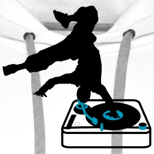 break dance console  Aprons - Men's Premium Hoodie